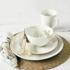 REALLY LIKE!!!   Over and Back Summit Lake Dinnerware Set & Reviews | Wayfair