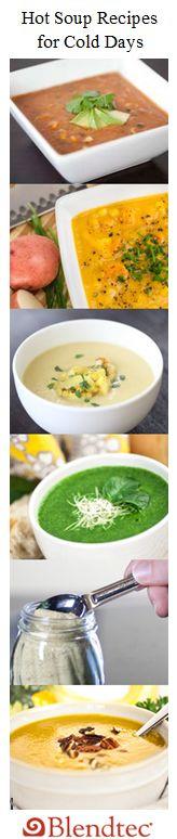 Blender Soup Recipes for Cold Days [Tasty Links]