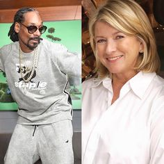 Martha Stewart and Snoop Dogg are collaborating in the kitchen for a new show airing this fall called Martha and Snoop's Dinner Party.