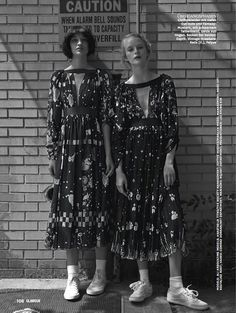 visual optimism; fashion editorials, shows, campaigns & more!: girls: ali arboux, anastasija titko and edythe hughes by hong jang hyun for glamour germany october 2014