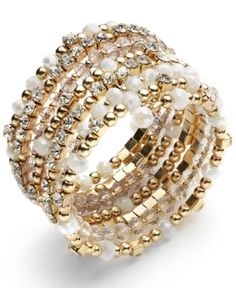this coil bracelet will dress up any outfit!!
