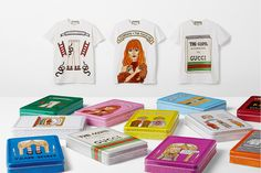 Gucci has teamed up with Angelica Hicks, an English illustrator known for her tongue-in-cheek girlish illustrations on a new T-shirt collection.
