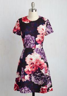 Wine Tasting Tour Floral Dress, @ModCloth