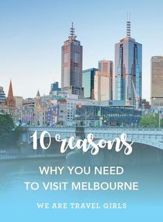 10 REASONS WHY YOU NEED TO VISIT MELBOURNE Melbourne has been voted the worlds most livable city on numerous occasions yet when you think of Australia, images of the Sydney Harbour Bridge and Opera House immediately spring to mind. The country's second largest city, and the capital of the state of Victoria, Melbourne, is so often overlooked yet it has it all – style, culture, sport, beaches, architecture, music, wineries – the list goes on and on. So if you're booking a trip down under, here…