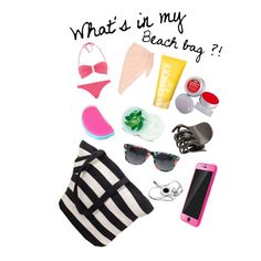 What's in my beach bag ?!