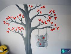1000 images about muurschilderingen kinderkamers van eigen ontwerp on pinterest met van and - Ontwerp muurschildering ...
