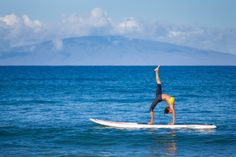 Get fit, zen out and try something awesome in our new SUP Yoga class at FS Maui.  Must try next time on Maui.