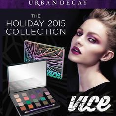 NEW! Urban Decay Vice 4 Eyeshadow Palette Holiday 2015 Collection