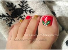 Floral Toenail Art by MyDesigns4you