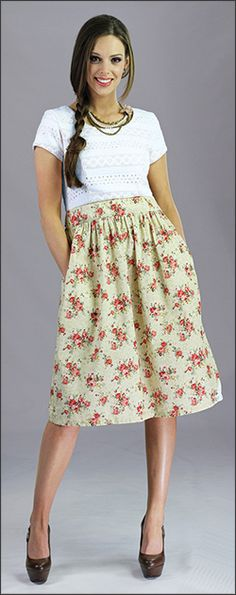 Celeste Summer Dress [MDC006] - $64.99 : Mikarose Fashion, Reinventing Modest Fashion