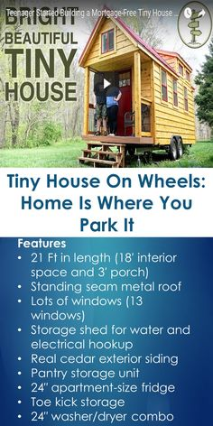 where to park a tiny house. Tiny House On Wheels: Home Is Where You Park It (Proudly Canadian) To A