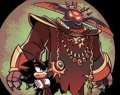 Black Doom and Shadow Hedgehog Art, Shadow The Hedgehog, Sonic The Hedgehog, Bad Comics, Archie Comics, Super Shadow, Shadow And Maria, Sonic Heroes, Graffiti Drawing