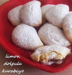 limon dolgulu kurabiye