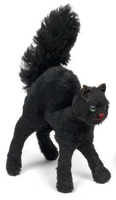 Vintage Black Cat, Steiff