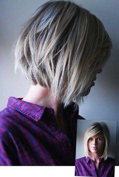 Short Layered Bob Haircut