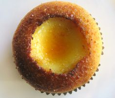 Megan Seling's Creme Brulee Cupcakes #recipe