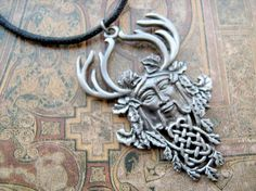 Celtic Herne the Hunter necklace Herne The Hunter, Troll, Unusual Jewelry, Celtic, Vintage Items, Temples, Art Ideas, Witch, Spirituality