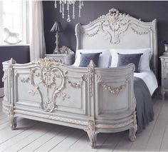 Luxury Bonaparte French Bed - Super & King Size Bed (Bed)