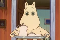 voorzichtig he xxx 😘😘 Aesthetic Images, Aesthetic Anime, Cute Characters, Cartoon Characters, Moomin Cartoon, Moomin Valley, Cartoon Memes, Cartoons, Tove Jansson