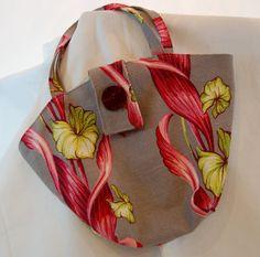 Beautiful Handmade Floral Barkcloth