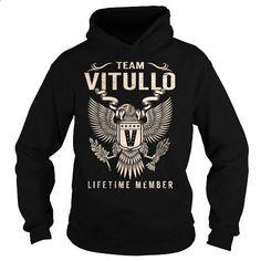 Team VITULLO Lifetime Member - Last Name, Surname T-Shirt - #graduation gift…  https://www.birthdays.durban