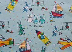 Tkanina w króliczki  #cottonbee #textile #sew #szycie