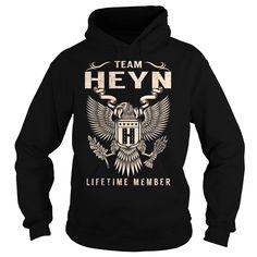 (Tshirt Perfect Discount) Team HEYN Lifetime Member Last Name Surname T-Shirt Discount Codes Hoodies Tees Shirts