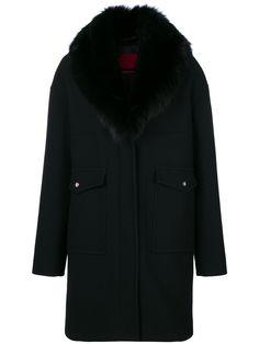 330a4f6f1d3c MONCLER GAMME ROUGE .  monclergammerouge  cloth   Black Fur Coat