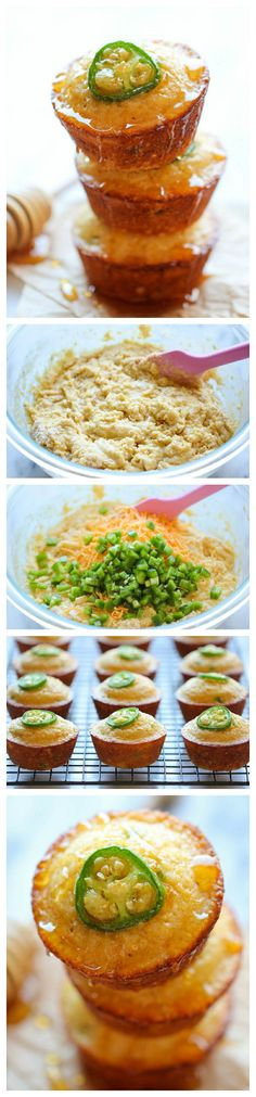 Jalapeno Cornbread Muffins Recipe