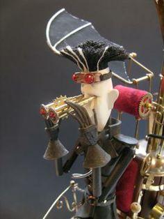 Steampunk Dutchman | Keith Newstead Automata