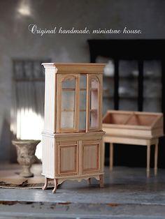 miniature* ショーケース棚 : natural色の生活~handmade家具
