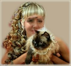 Beautiful Girl With Cat Animals, Beautiful, Cat, Friends, Pictures, Amigos, Animales, Animaux, Cat Breeds