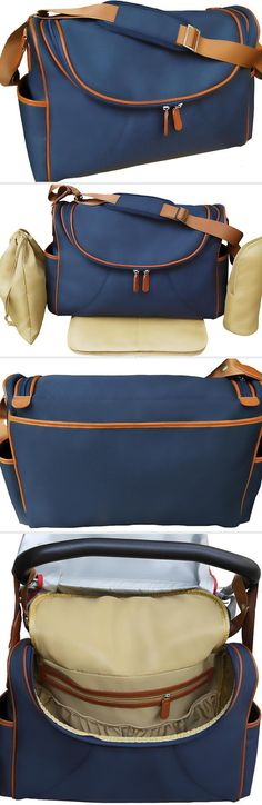 Practical and stylish diaper bag.