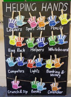 Classroom jobs are important in a classroom setting. It lets students know that they have a place in this classroom. I plan on having these in my future classroom. Classroom Job Chart, Year 1 Classroom, Classroom Helpers, Preschool Classroom Jobs, Kindergarten Job Chart, Classroom Organisation Primary, Primary Classroom Displays, Classroom Jobs Display, Preschool Job Chart