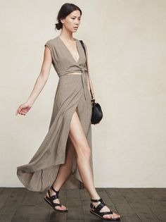 Hi. The Westlake Dress makes us think of lounging by the pool in Morocco, and anything that can make you feel like that can't be bad. https://www.thereformation.com/products/westlake-dress-windsor?utm_source=pinterest&utm_medium=organic&utm_campaign=PinterestOwnedPins