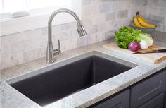Graphite Drop-In Sink For Kitchen | Lowes