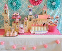 Decoração de festa infantil das princesas, bailarina, peppa, monster high, para menino e menina! As melhores ideias para aniversário de criança!