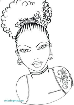 Free African American Children S Coloring Pages Danaclarkcolors