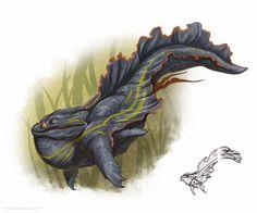 Grob Creature Concept by Brynn Metheney