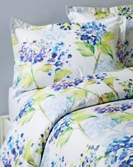 Watercolor Floral Duvet Cover and Sham
