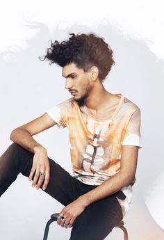 T-shirt Vésuve - pour homme - marque Boys don't cry / Men's t-shirt - Boys don't cry brand