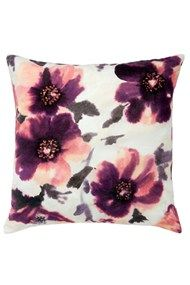 Vibrant watercolour effect cushion from Marks and Spencers.