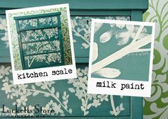Just bought this gorgeous color! Miss Mustard Seed's Milk Paint, comes in powder form that you mix with water.  $22.00