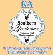 Kappa Alpha Order, TRUE southern gentlemen