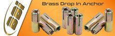 With hard-earned experience of our adept professionals, we manufacture and export a range of #BrassDropinAnchor. Visit @ http://www.brassmanufacturersindia.com/product/brass-anchors-manufacturer/brass-drop-anchor/
