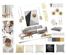 hello december by levai-magdolna on Polyvore featuring interior, interiors, interior design, home, home decor, interior decorating, in2green, Frette, Mina Victory and Tommy Hilfiger