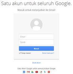 Master Internasional™: Cara Membuat Alamat Email Di Google