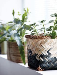 House Doctor Bamboo Basket L