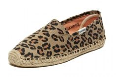The Top Under-$50 Beach Shoes For Your Next Vacay #refinery29 Soludos Animal Print Espadrilles, $48, available at Soludos.