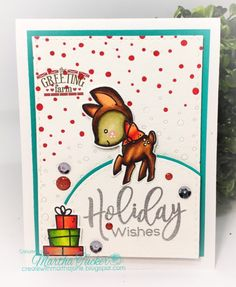 Holiday Wishes : The Greeting Farm – holiday wishes by martha